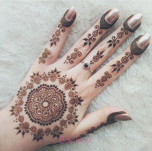 15 Best Latest Hena Tattoo Mehndi Designs Ideas For Hands 2015 8 15 Best & Latest Hena Tattoo & Mehndi Designs & Ideas For Hands 2015