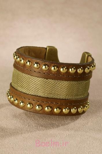 Image result for مدل دستبند چرم دخترانه