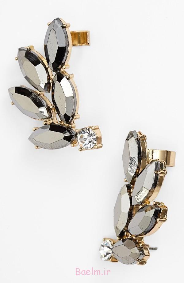 3 گوش دکمه سر دست جواهر designes جدید 2015 (1)
