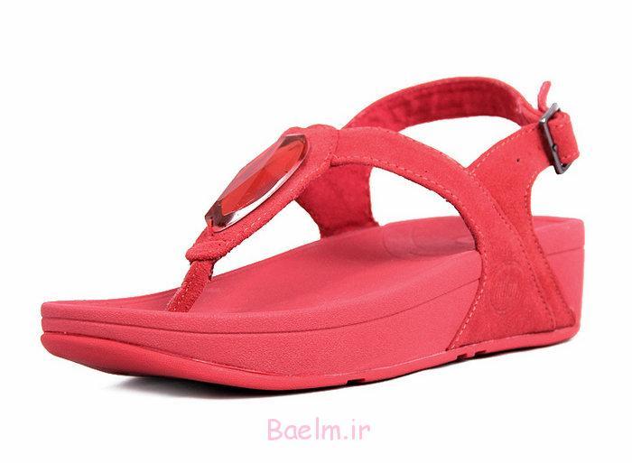 3 کفش های شگفت انگیز قرمز
