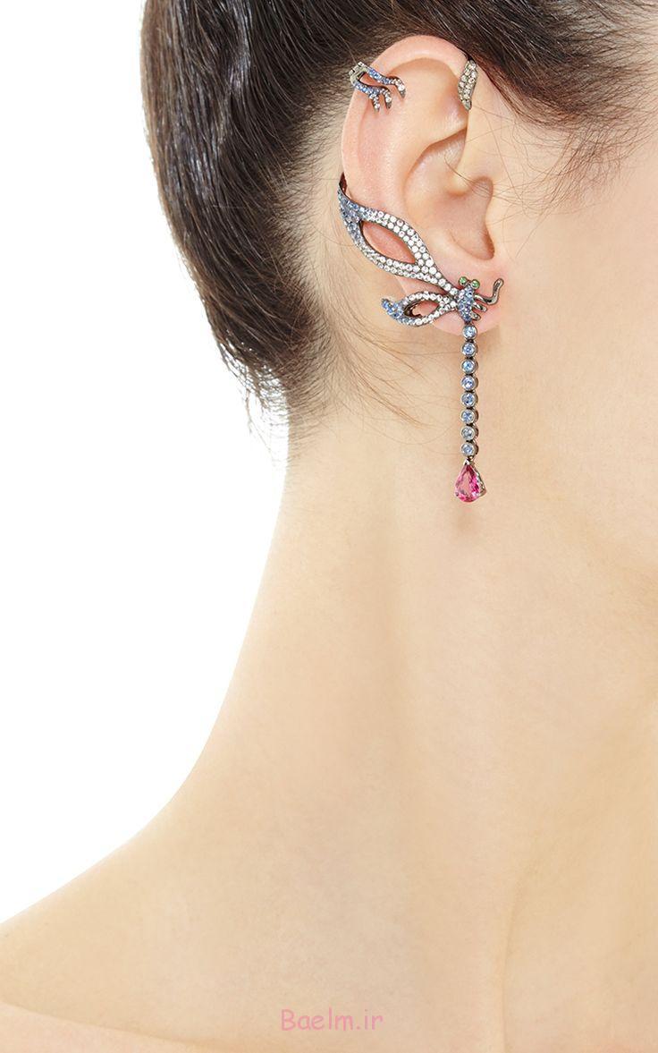 مدل گوشواره های بدلی،گوشواره های لاله گوش،جدیدترین مدل
