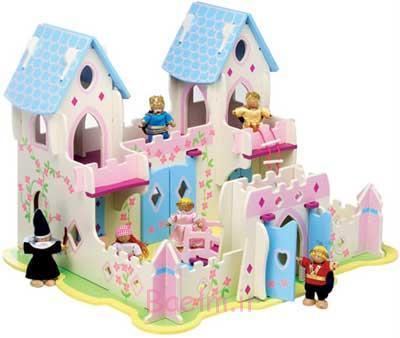 5 خانه عروسکی چوبی فرزندان خود آنها را دوست (21)