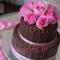 تولد با شکلات،تزیین مدل های کیک تولد تزیینات روی کیک،تزیینات روی کیک تولد
