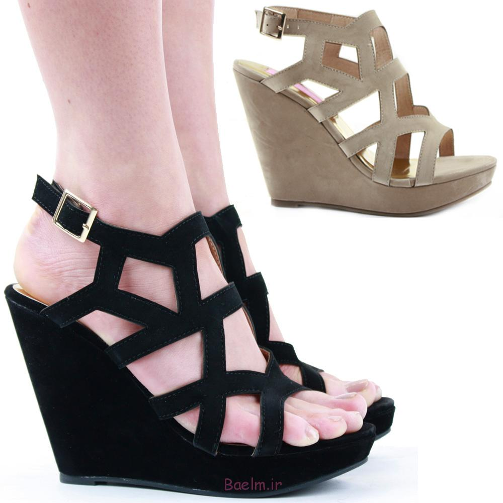 مدل کفش لژدار پاشنه دار دخترانه، مدل کفش لژدار پاشنه دار زنانه