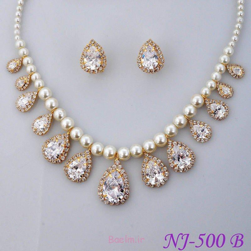 شگفت انگیز مروارید مجموعه جواهرات عروسی (14)