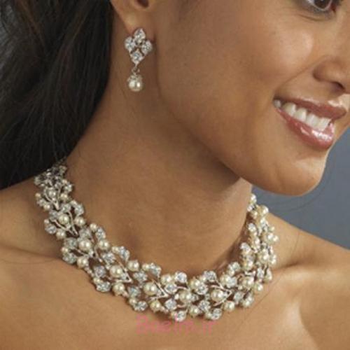 شگفت انگیز مروارید مجموعه جواهرات عروسی (7)