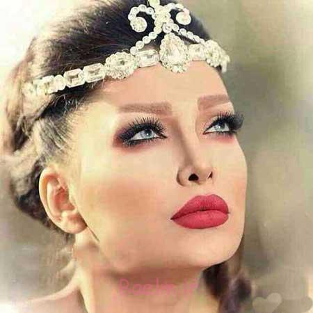 مدلهای زیبای آرایش عروس