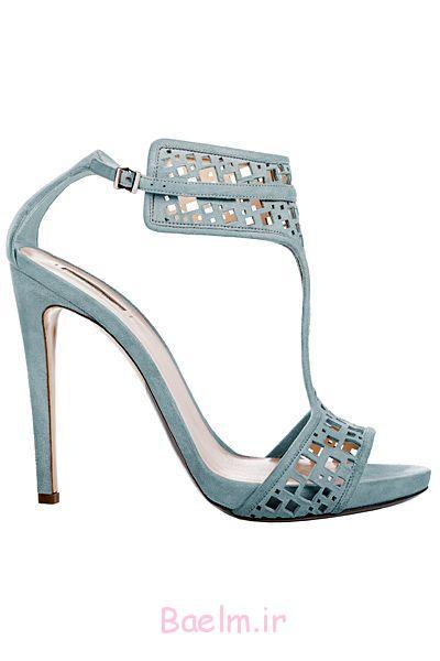 کفش پاشنه آبی توسط آرمانی