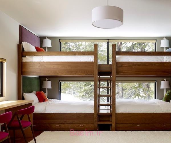 تخت خواب دوطبقه, تخت خواب دوطبقه نوجوان, تخت خواب دو طبقه mdf, تخت خواب دو طبقه