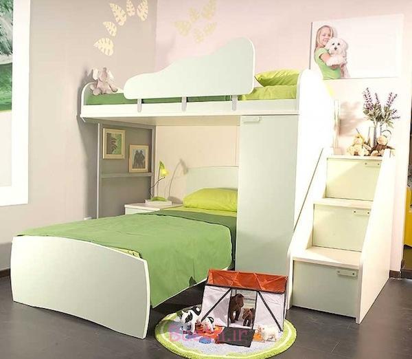 نوجوانان مدل های شیک و زیبای تخت خواب دوطبقه کودک   دخترانه و ...