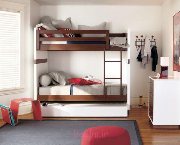 تخت خواب دو طبقه کمجا, تخت خواب دو طبقه اتاق کودک, تخت خواب دو طبقه