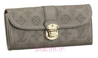 کلاچ کیف پول در خاکستری رنگ