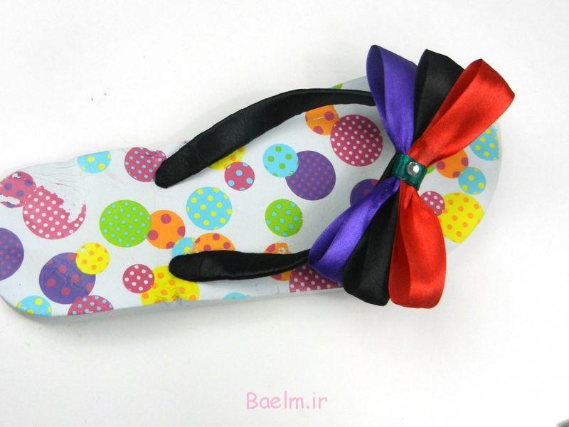 فلیپ فلاپ رنگارنگ تعظیم کفش (14)