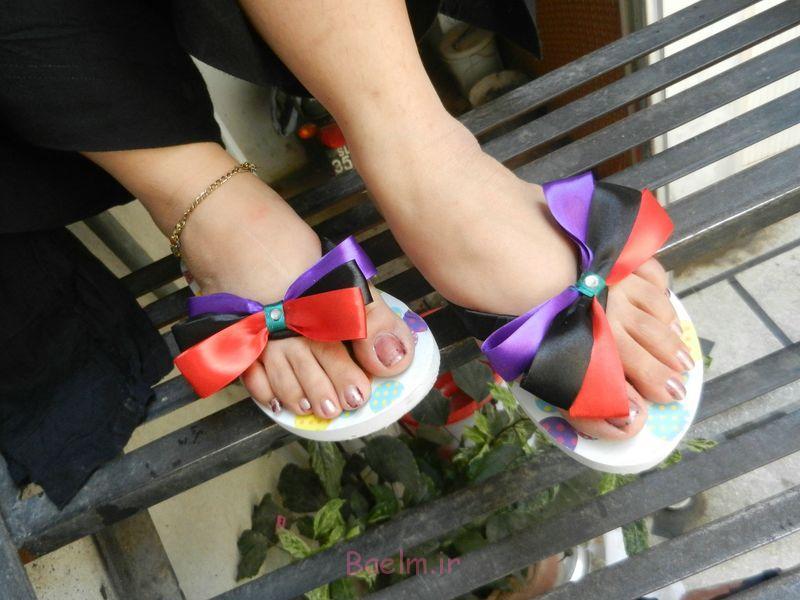 فلیپ فلاپ رنگارنگ تعظیم کفش (16)