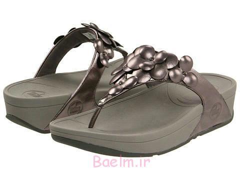کفش خاکستری سبک های مختلف