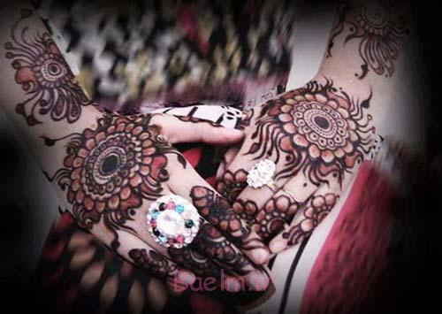 زیبا tikya طراحی mehndi برای خانمها (5)