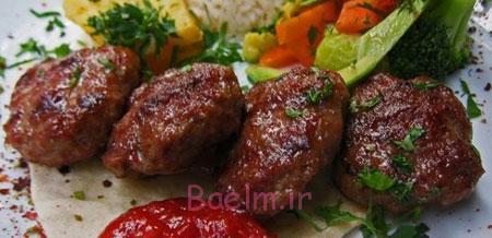 آموزش انواع کباب | مواد لازم و طرز تهیه گشنیز کباب (مخلوط گوشت و سبزی)