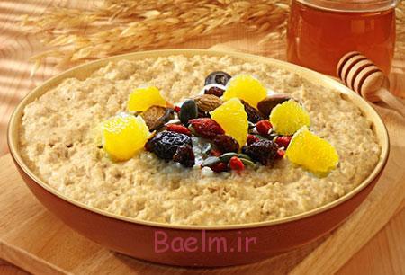 طرز تهیه صبحانه مقوی,مواد لازم برای کاسه صبحانه