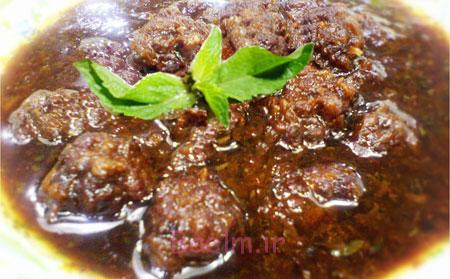 آموزش غذاهای خارجی | مواد لازم و طرز تهیه خورش داوود پاشا (غذای ترکیه ای)