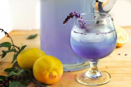 آموزش انواع نوشیدنی | مواد لازم و طرز تهیه شربت اسطوخودوس (درمان 100 بیماری)