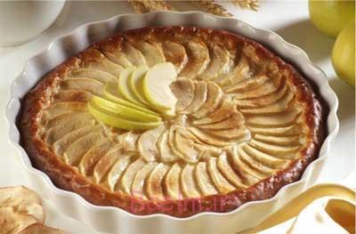 پای سیب،آموزش انواع شیرینی،درست کردن پای سیب