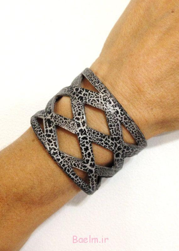 زیبا ترین دستبند های چرمی دخترانه دستبند چرم،عکس دستبند،دستبند چرمی