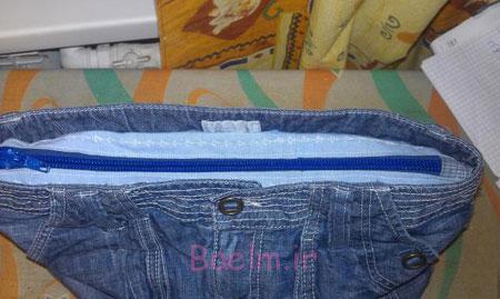 آموزش دوخت کیف با لباس های قدیمی, آموزش تصویری دوخت کیف