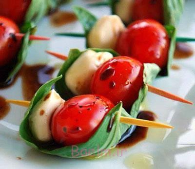 تصاویر سفره آرایی با تزیین گوجه,عکس های سفره آرایی با تزیین گوجه,سفره آرایی ماه رمضان با گوجه