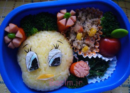 نحوه تزیین غذای بچه ها, ایده تزیین غذای کودکان