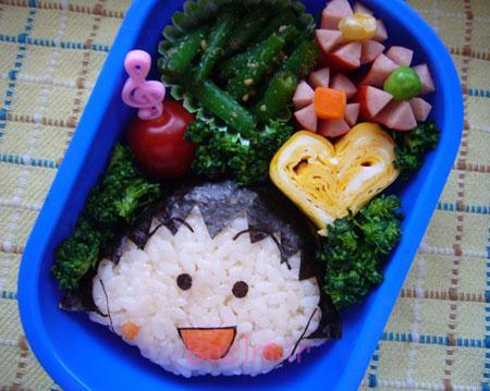 تزیینات غذای کودکان, نحوه تزیین غذای بچه ها