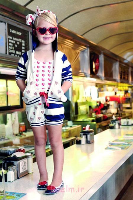 لباس اسپرت بهاری دخترانه Monnalisa,تاپ و شورت دخترانه Monnalisa