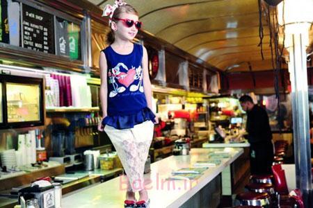 لباس راحتی بهاری دخترانه Monnalisa,تاپ و شلوار دخترانه Monnalisa