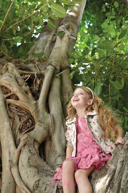 کت و پیراهن بهاری دخترانه Monnalisa,کت و پیراهن دخترانه Monnalisa