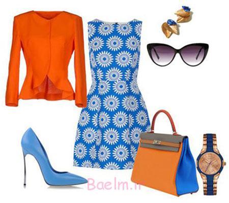 ست کردن لباس زنانه در تابستان,مدل ست های زیبا
