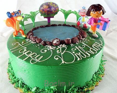 کیک های تولد 2015, کیک تولد بچه گانه