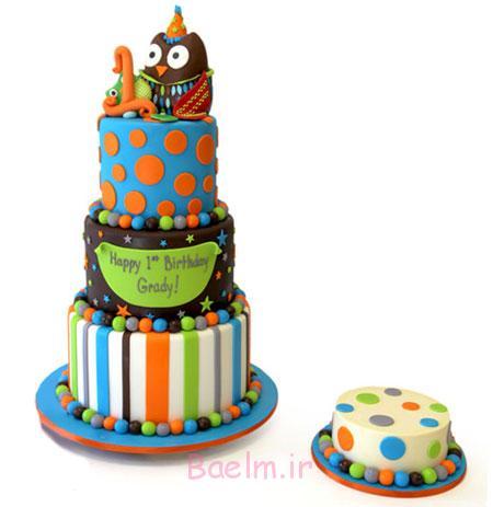 جدیدترین کیک های تولد چند طبقه,جدیدترین تصاویر کیک تولد