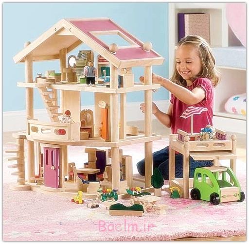 تزئینات خانه های چوبی فانتزی،دکوراسیون خانه عروسکی خانه های اسباب بازی
