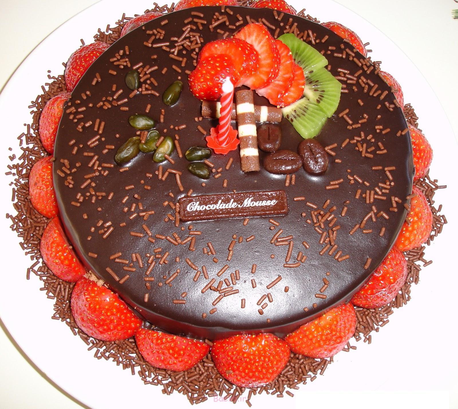 دیدنیها | عکس های زیبا از تزیینات کیک های شکلاتی مخصوص تولد