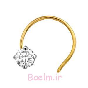 جواهرات پین بینی در نقره ای (1)