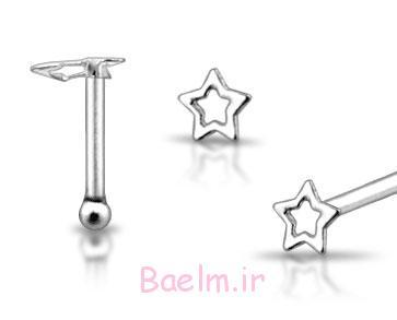 جواهرات پین بینی در نقره ای (10)