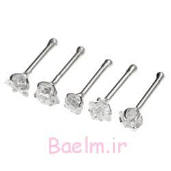 جواهرات پین بینی در نقره ای (9)