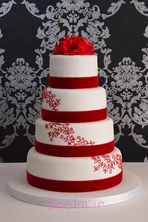 نمونه هایی از شیک ترین کیک های عروسی چند طبقه،کیک مدل های جدید