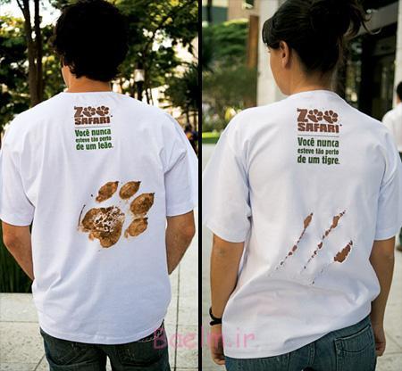 ،تی شرت های طرح دار تی شرت های غیر معمول،عکس های جالب