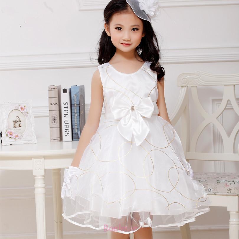 سفید فانتزی حزب لباس و لباس برای بچه ها