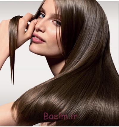 آموزش صاف کردن مو با استفاده از اتوی صاف کننده موهای فر