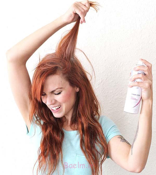 پودر بچه برای پرپشت کردن مو