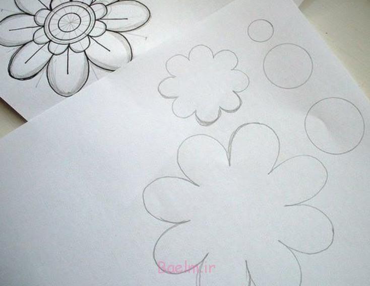 الگوی دلخواهتون رو روی کاغذ بکشین با تمام لایه ها!