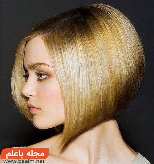 مدل مو دخترانه و زنانه برای صورت تپل و گرد,مدل مو دخترانه برای صورت لاغر