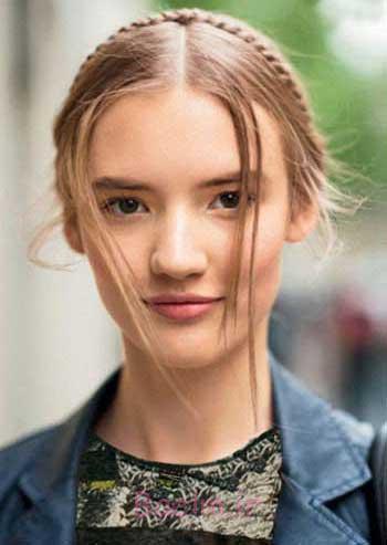 عکس مدل های جدید موی بافته شده