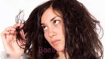درمان موهای آسیب دیده و سوخته